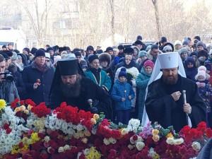В Магнитогорске прошла панихида по жертвам взрыва в доме. Девять дней