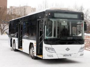 Выхлопы автобуса снижены в 5 раз