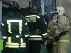 Пожар возник из-за непогашенной сигареты в мусоропроводе
