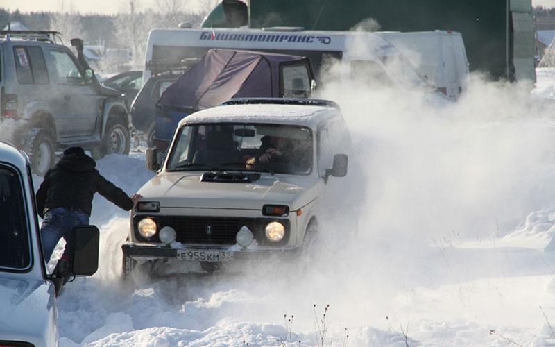 В Брянске пройдут гонки на джипах