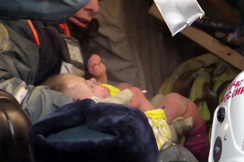 В Минздраве сообщили об улучшении состояния спасенного в Магнитогорске младенца