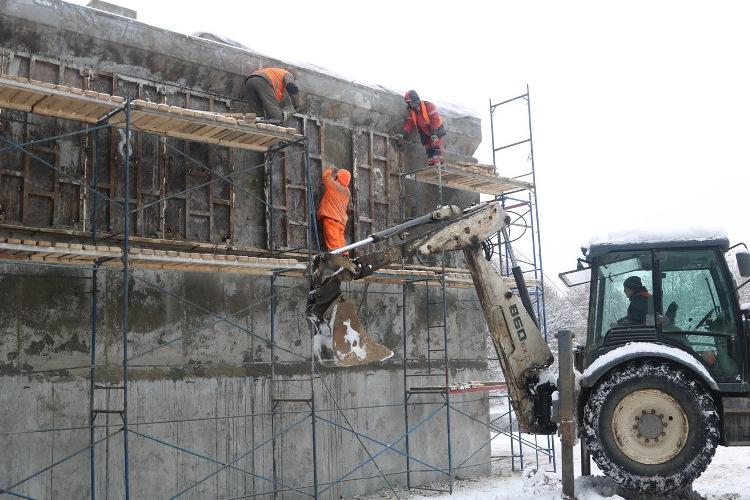На Первомайском мосту в Брянске возобновились работы