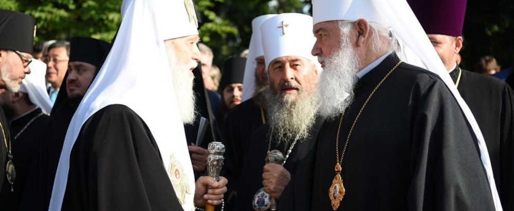Верховная рада приняла закон о смене подчиненности украинских приходов