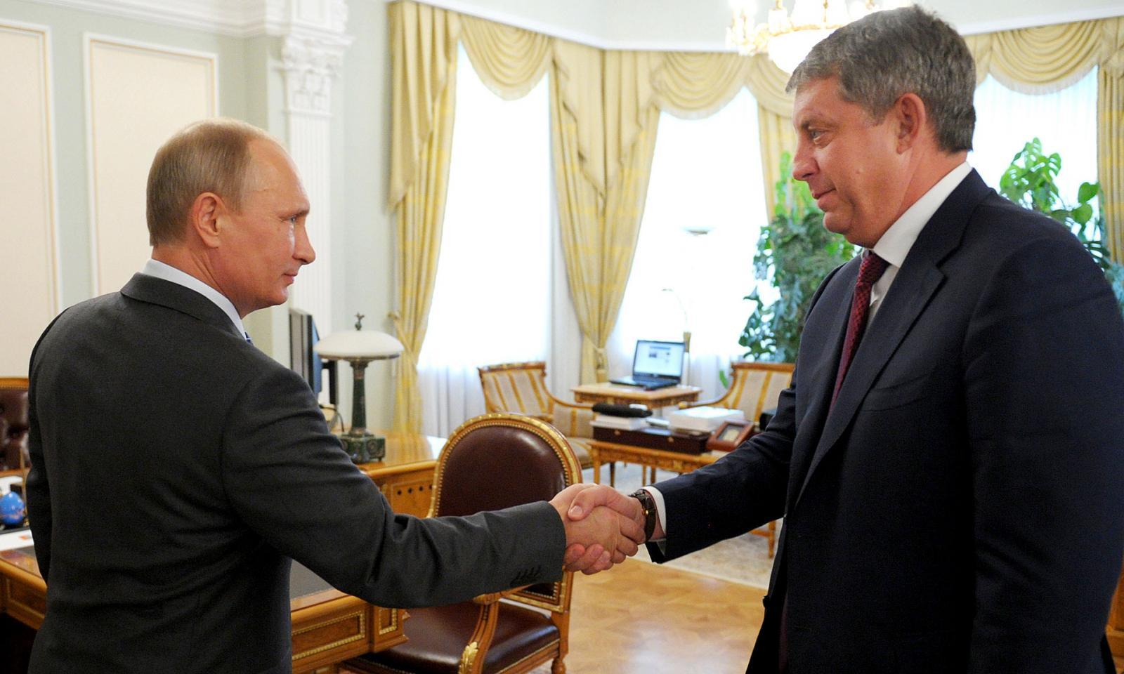 С днем рождения Богомаза поздравил лично Путин