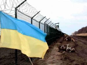 «Стена» на границе России и Украины по-прежнему не готова