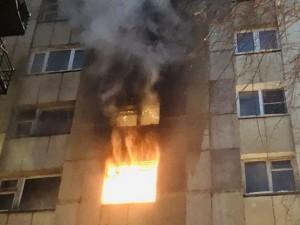 9 человек пострадали во время пожара в Озерске