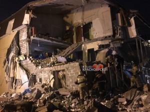 Обрушились три квартиры в Красноярске из-за взрыва газа в жилом доме