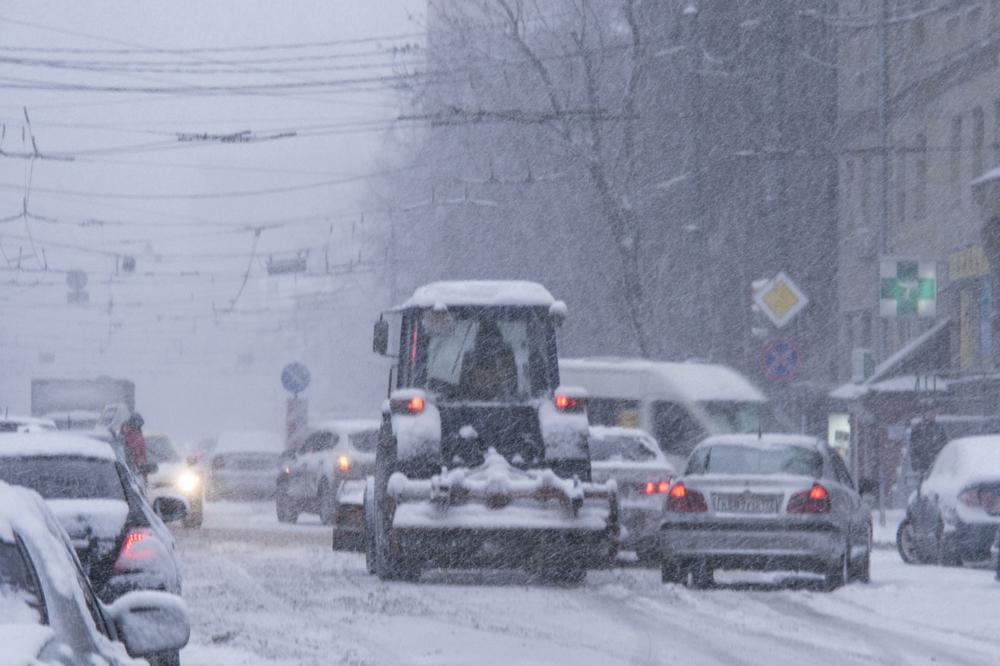 Завтра в Брянске сильный снегопад