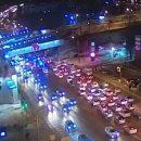 Маршрутка врезалась в столб в центре Челябинска: семь пострадавших
