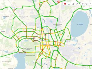 Семибалльные пробки в Челябинске