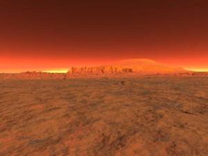 Странные звуки на Марсе записала аппаратура станции Mars InSight