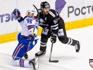 Челябинский «Трактор» проиграл последний матч регулярного чемпионата КХЛ