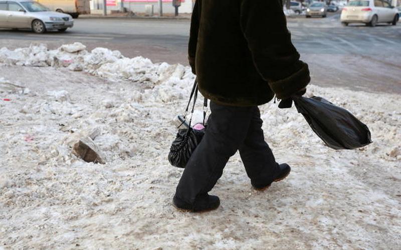 На улице Фокина в Брянске сбили пьяного пенсионера