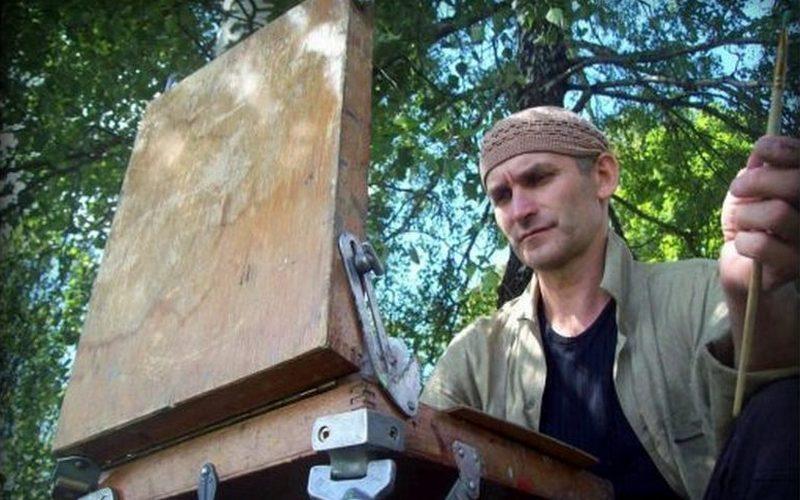 Трагически погиб брянский художник Владимир Крылов