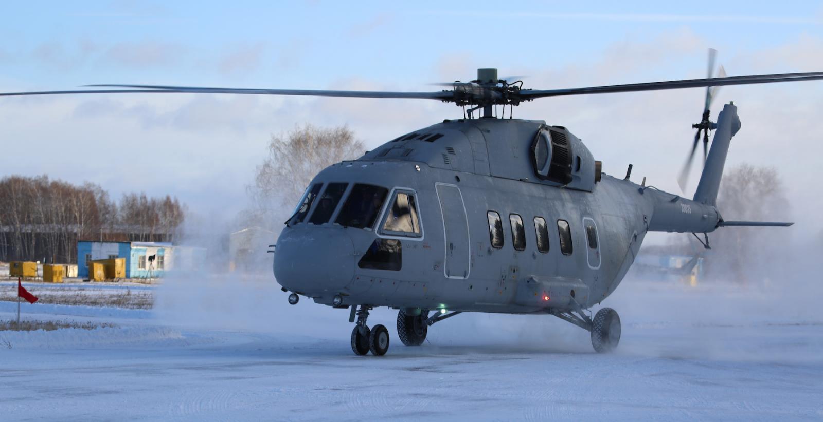 Минобороны получит первый вертолет Ми-38Т в июне