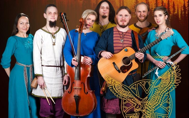 Фолк-рок группа «Сколот» расскажет брянцам легенды славян и кельтов