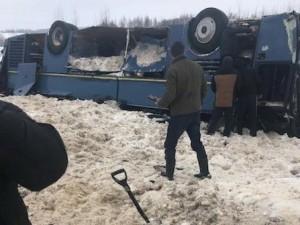 Погибших в ДТП в Калужской области стало семь. В том числе четверо детей