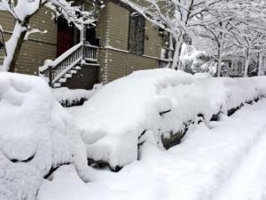 Снегопады в Вашингтоне блокировали работу аэропортов