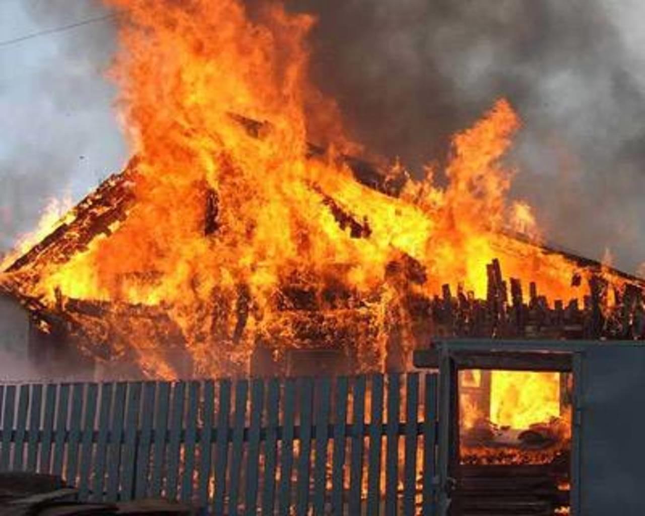 В Клинцах чуть не сгорела частная баня