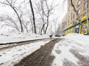Усиленной работы по вывозу снега челябинцы не увидели