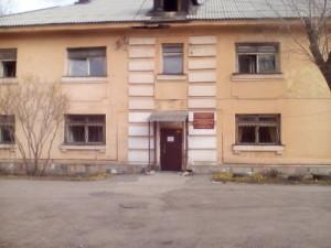 В Челябинске начали снос тубдиспансера на улице Труда