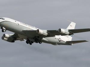 Американский военный самолет пролетел над территорией России