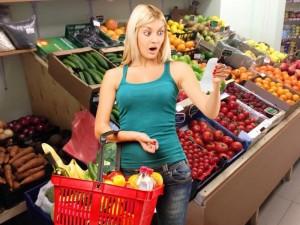 Рост цен на продукты в России в четыре раза выше, чем в Европе