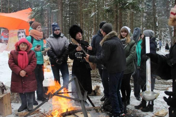 В Дятьково прошел ежегодный фестиваль бардовской песни «Белое безмолвие – 2019»