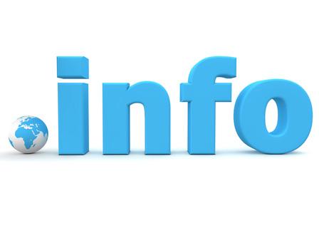 Регистрация INFO Доменного Имени