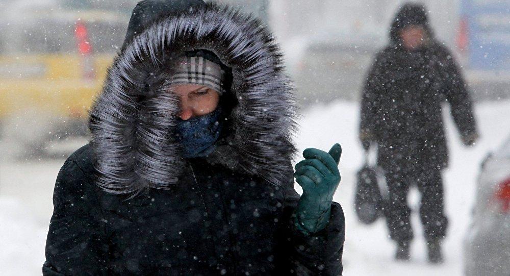 Завтра в Брянске снег и шквалистый ветер