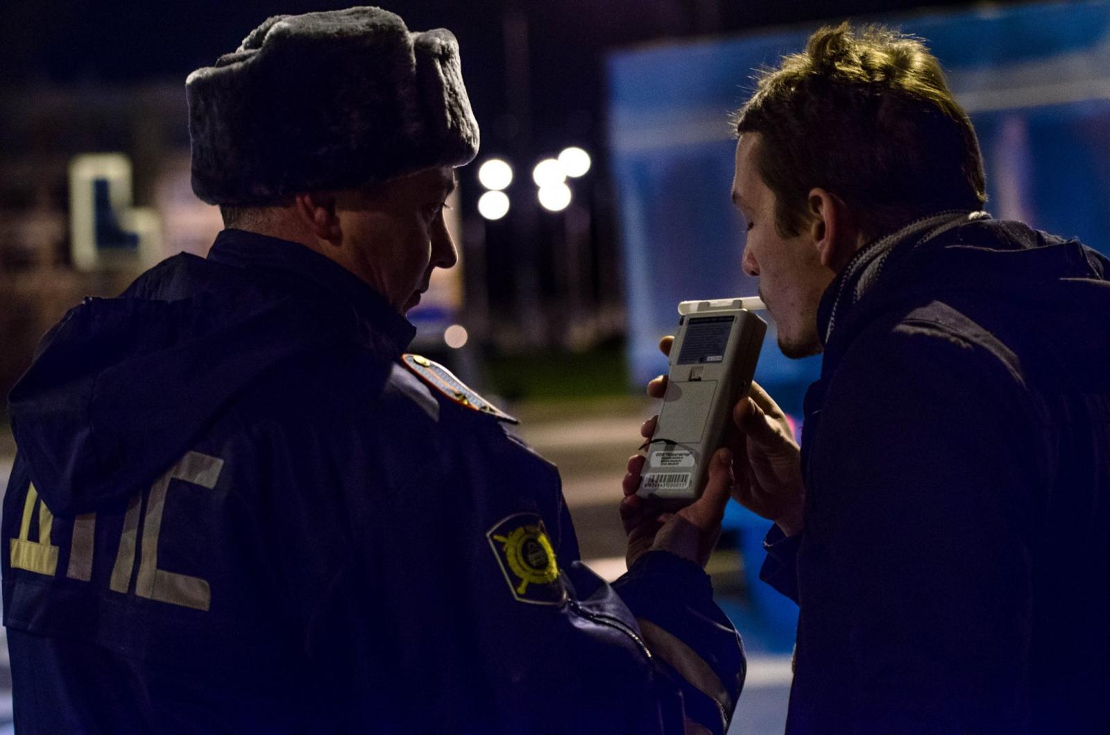 В Брянской Бежице пройдут сплошные проверки водителей на трезвость