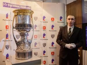 Кубок Гагарина прибыл в Челябинск