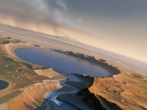 Карту водных ресурсов Марса создают в США для первопоселенцев