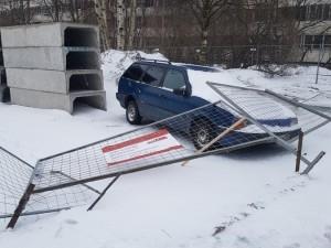 Ураган в Санкт-Петербурге сдувал все на своем пути
