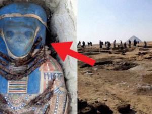 Мумия с лицом пришельца удивила археологов