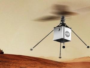 Марсианский вертолет успешно прошел первые испытания