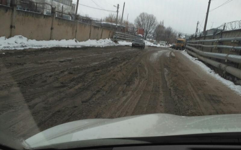 В Брянске адскую дорогу к МРЭО ГИБДД отремонтируют в этом году