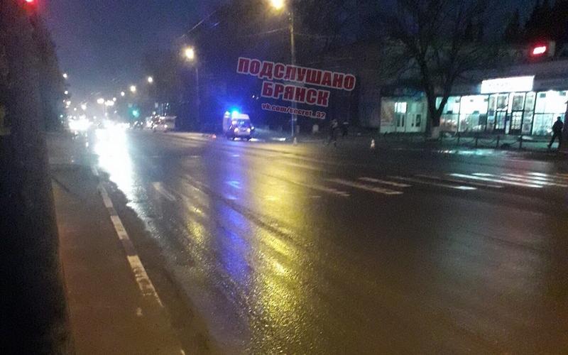 Возле «Кремния» в Брянске насмерть сбили пешехода