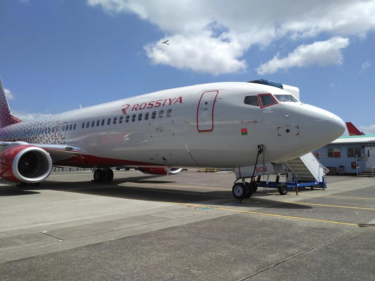 В Сети нашли самолет с названием «Брянск»