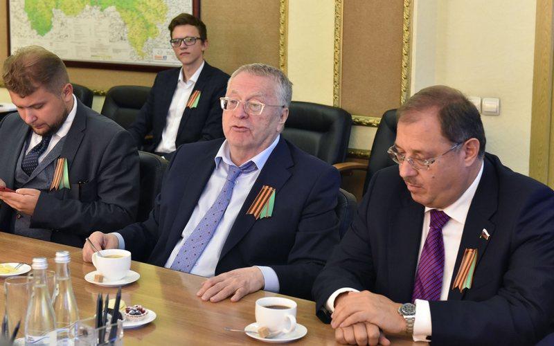 Жириновский назвал брянского депутата Бадырханова предателем