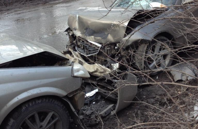 Серьезная авария в Брянске: в одной из легковушек находился ребенок