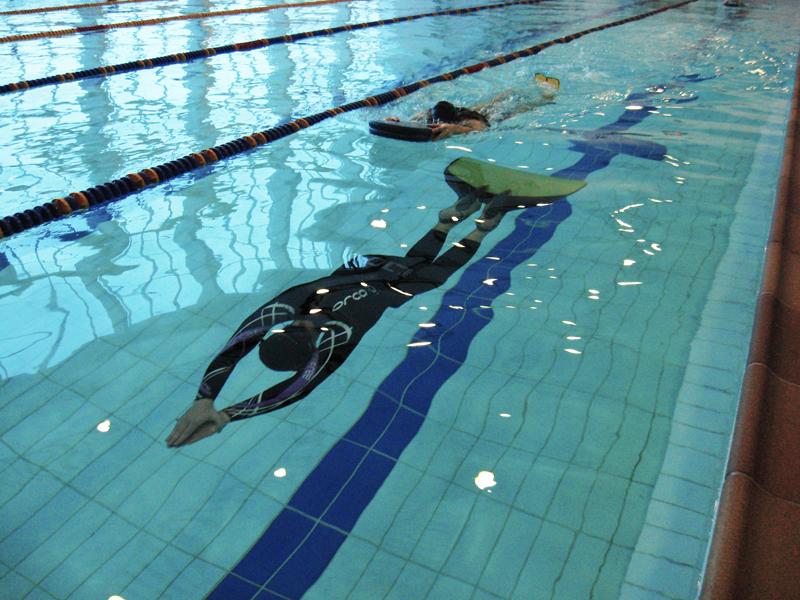 В Брянске прошли соревнования по подводному плаванию