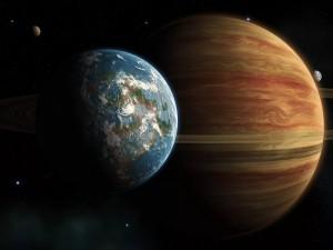 Юпитер когда-то был размером с Землю