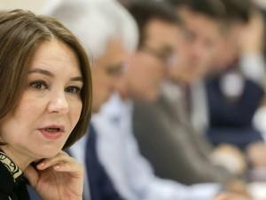 Она голосовала за повышение пенсионного возраста. Депутат Альфия Когогина