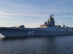 Фрегат «Адмирал Горшков» с отрядом из трех кораблей прошел Ла-Манш