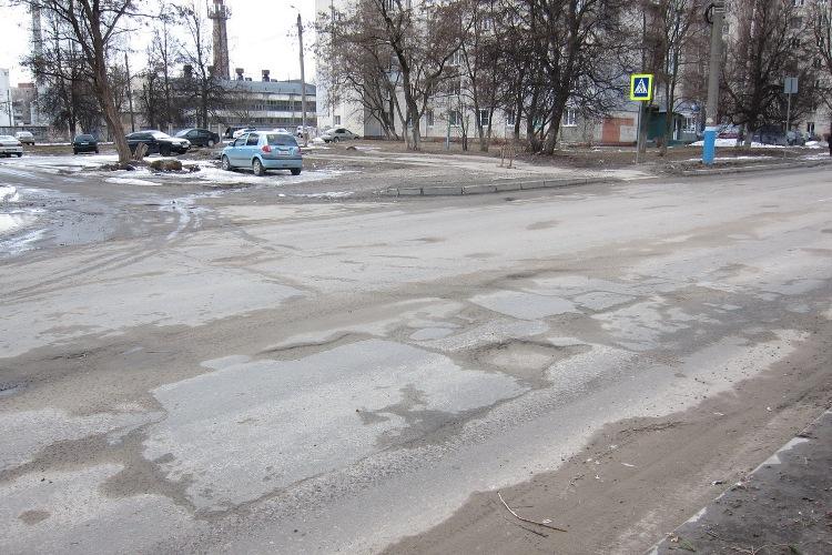 В Брянске отремонтируют улицу Костычева