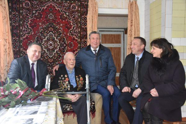 Брянскому разведчику исполнилось 96 лет