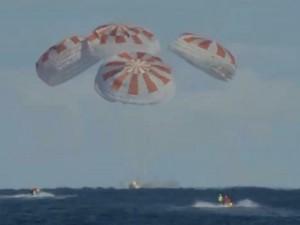 Корабль компании Илона Маска SpaceX успешно вернулся на Землю
