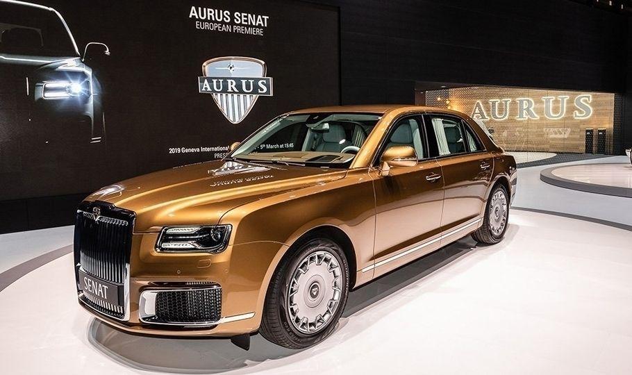 Не ВАЗом единым: в Женеве презентовали российские автомобили Aurus