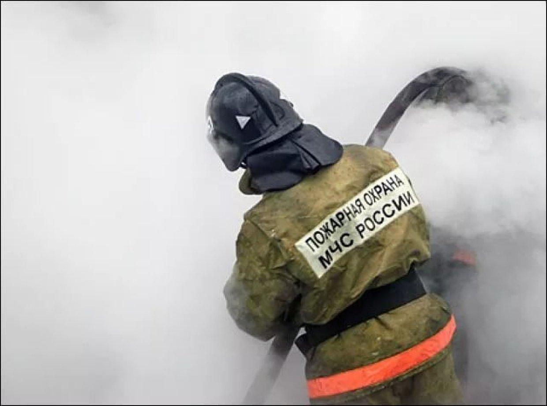 В Погарском районе сгорел сарай